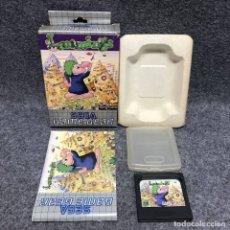 Videojuegos y Consolas: LEMMINGS SEGA GAME GEAR. Lote 174293932