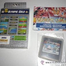 Videojuegos y Consolas: SEGA GAME GEAR JUEGO OLYMPIC GOLD. Lote 175391413