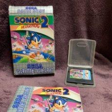 Videojuegos y Consolas: SONIC THE HEDGEHOG 2 GAME GEAR PAL COMPLETO. Lote 175451204