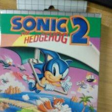 Videojuegos y Consolas: SONIC THE HEDGEHOG 2 GAME GEAR PAL COMPLETO. Lote 176220069