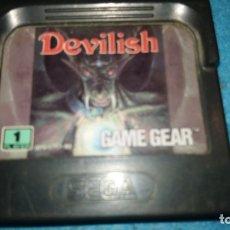 Videojuegos y Consolas: DEVILISH JUEGO.. - SEGA GAME GEAR. Lote 177188529