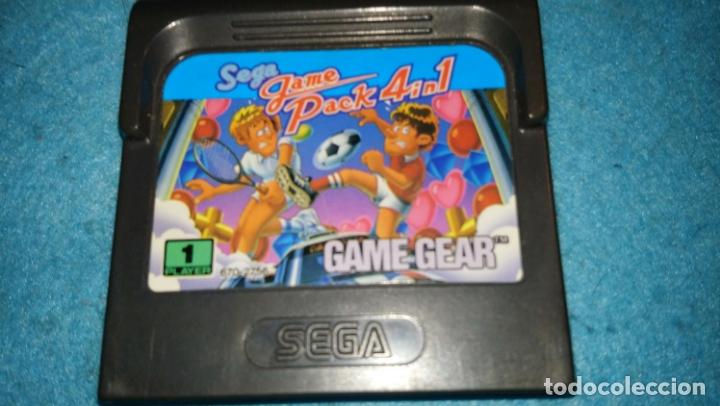 SEGA GAME PACK 4 IN 1 SEGA GAME GEAR (Juguetes - Videojuegos y Consolas - Sega - GameGear)
