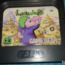 Videojuegos y Consolas: LEMMINGS JUEGO PARA SEGA GAME GEAR. Lote 177198213