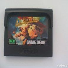 Videojuegos y Consolas: AX BATTLER, A LEGEND OF GOLDEN AXE. JUEGO PARA LA CONSOLA SEGA GAME GEAR.. Lote 177842108