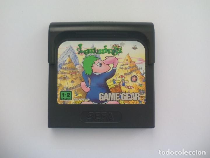 LEMMINGS. JUEGO PARA LA CONSOLA SEGA GAME GEAR. (Juguetes - Videojuegos y Consolas - Sega - GameGear)