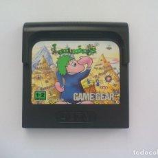 Videojuegos y Consolas: LEMMINGS. JUEGO PARA LA CONSOLA SEGA GAME GEAR.. Lote 177842237