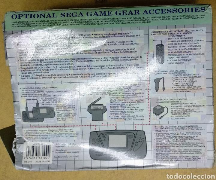Videojuegos y Consolas: Game Gear de Sega con caja y juegos. Condensadores recién cambiados por profesional . - Foto 3 - 178373231