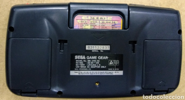 Videojuegos y Consolas: Game Gear de Sega con caja y juegos. Condensadores recién cambiados por profesional . - Foto 6 - 178373231