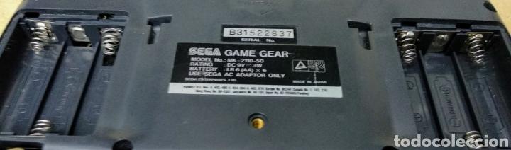 Videojuegos y Consolas: Game Gear de Sega con caja y juegos. Condensadores recién cambiados por profesional . - Foto 10 - 178373231