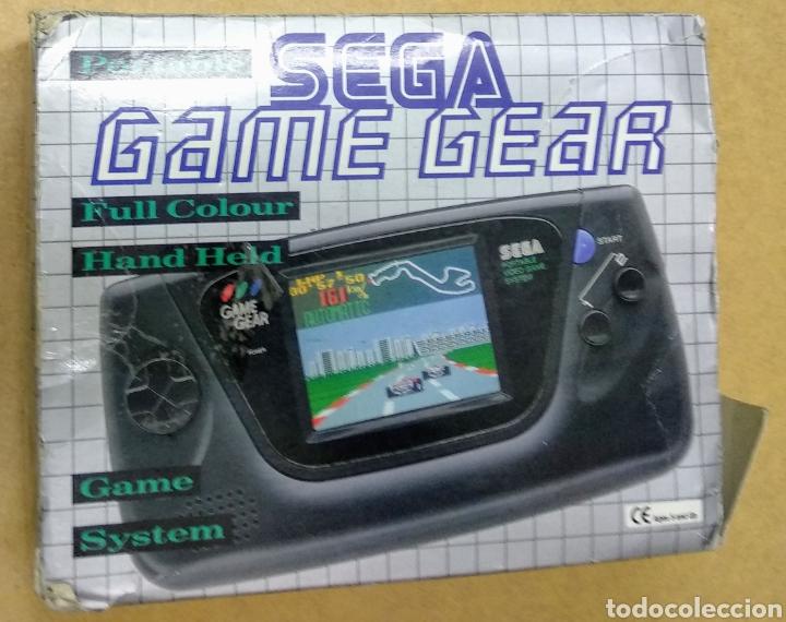 GAME GEAR DE SEGA CON CAJA Y JUEGOS. CONDENSADORES RECIÉN CAMBIADOS POR PROFESIONAL . (Juguetes - Videojuegos y Consolas - Sega - GameGear)