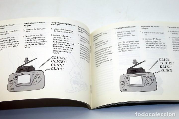 Videojuegos y Consolas: SEGA GAMEGEAR - MANUAL DE INSTRUCCIONES - GAME GEAR - Foto 3 - 178807926