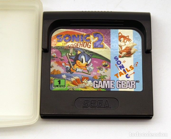 Videojuegos y Consolas: SEGA GAMEGEAR - JUEGO SONIC THE HEDGEHOW 2 - GAME GEAR - SONIC - TAILS - Foto 1 - 178808201