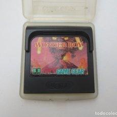 Videojuegos y Consolas: JUEGO WONDER BOY PARA SEGA GAME GEAR.. Lote 179081938