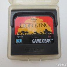 Videojuegos y Consolas: THE LION KING PARA SEGA GAME GEAR. Lote 179082192