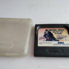 Videojuegos y Consolas: JUEGO PARA SEGA GAME GEAR INDIANA JONES . Lote 181760751