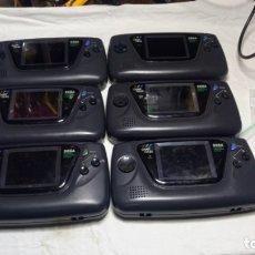 Videojuegos y Consolas: LOTE 6 GAME GEARS ,REPUESTOS O REPARACION. Lote 182066982