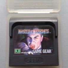 Videojuegos y Consolas: SEGA GAME GEAR MASTER OF DARKNESS INCLUYE FUNDA TODO ORIGINAL PAL R9599. Lote 182487156