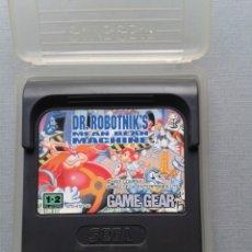 Videojuegos y Consolas: SEGA GAME GEAR DR. ROBOTNIK´S MEAN BEAN MACHINE INCLUYE FUNDA TODO ORIGINAL PAL R9600. Lote 182487196