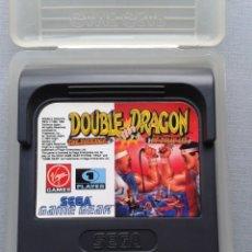 Videojuegos y Consolas: SEGA GAME GEAR DOUBLE DRAGON THE REVENGE OF BILLY LEE + FUNDA TODO ORIGINAL PAL R9601. Lote 182487232