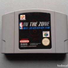 Videojuegos y Consolas: NINTENDO 64 IN THE ZONE 2000 NBA PLENO FUNCIONAMIENTO SOLO CARTUCHO PAL N64 RARO R9604. Lote 182490620