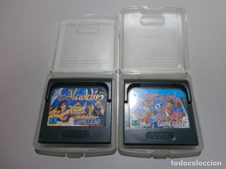 LOTE DE 2 JUEGOS GAME GEAR (Juguetes - Videojuegos y Consolas - Sega - GameGear)