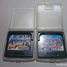 Videojuegos y Consolas: LOTE DE 2 JUEGOS GAME GEAR. Lote 182866031