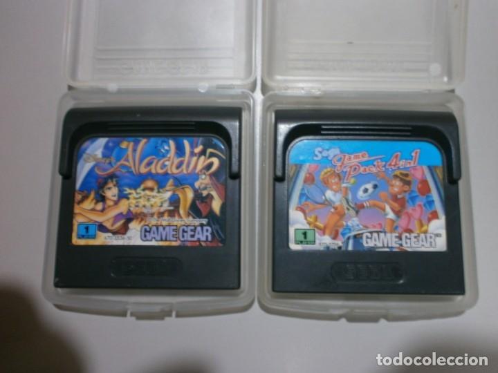 Videojuegos y Consolas: lote de 2 juegos game gear - Foto 2 - 182866031