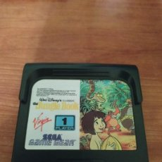 Videojuegos y Consolas: THE JUNGLE BOOK GAME GEAR EL LIBRO DE LA SELVA. Lote 186211857