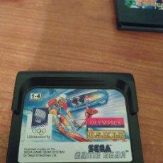 Videojuegos y Consolas: WINTER OLYMPICS GAME GEAR. Lote 186211995