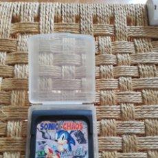 Videojuegos y Consolas: GAME GEAR SONIC CHAOS. Lote 186392305