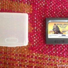 Videojuegos y Consolas: INDIANA JONES LAST CRUSADE. GAME GEAR. Lote 187604511