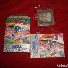 Videojuegos y Consolas: GAME GEAR SONIC 2 COMPLETO CON INSTRUCCIONES DE NUEVO EN VENTA POR IMPAGO. Lote 218624830