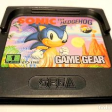 Videojuegos y Consolas: SONIC THE HEDGEHOG GAME GEAR *** SEGA. Lote 191932290