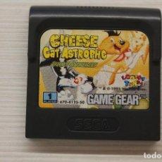 Videojuegos y Consolas: GAME GEAR CHEESE CAT ASTROPHE, CON FUNDA ORIGINAL, FUNCIONA. Lote 192139557