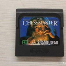 Videojuegos y Consolas: GAME GEAR THE CHESSMASTER CON FUNDA ORIGINAL, FUNCIONA. Lote 192140636