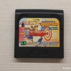 Videojuegos y Consolas: GAME GEAR DESERT SPEEDTRAP, FUNCIONA. Lote 192142243