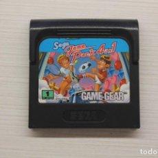 Videojuegos y Consolas: GAME GEAR PACK 4 IN 1, FUNCIONA. Lote 192142392