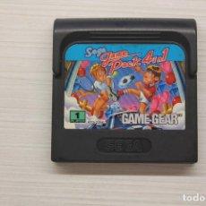 Videojuegos y Consolas: GAME GEAR GAME PACK 4 IN 1, FUNCIONA. Lote 192142410