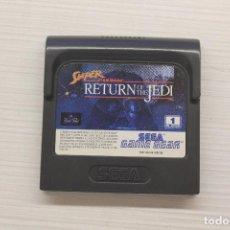 Videojuegos y Consolas: GAME GEAR SUPER STAR WARS RETURN OF THE JEDI, CON FUNDA ORIGINAL, FUNCIONA. Lote 192142642