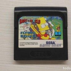 Videojuegos y Consolas: GAME GEAR THE SIMPSONS BART VS WORLD, CON FUNDA ORIGINAL, FUNCIONA. Lote 192142810