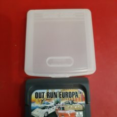 Videojuegos y Consolas: JUEGO SEGA GAME GEAR OUT RUN EUROPA. Lote 192533212