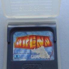 Videojuegos y Consolas: JUEGO SEGA GAME GEAR ARENA CARTUCHO + FUNDA ORIGINAL PAL R9924. Lote 192957063