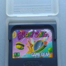 Videojuegos y Consolas: JUEGO SEGA GAME GEAR FANTASY ZONE CARTUCHO + FUNDA ORIGINAL PAL R9925. Lote 192957120