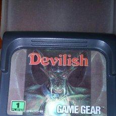 Videojuegos y Consolas: DEVILISH GAME GEAR CARTUCHO JUEGO. Lote 193072630