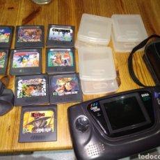 Videojuegos y Consolas: LOTE SEGA GAME GEAR. Lote 194510643