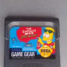 Videojuegos y Consolas: JUEGO SEGA GAME GEAR SIMPSONS BART VS SPACE MUTANTS FLYING EDGE SOLO CARTUCHO R10014. Lote 194764990