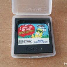 Videojuegos y Consolas: THE SIMPSONS BART SPACE MUTANTS SEGA GAME GEAR. Lote 277644798