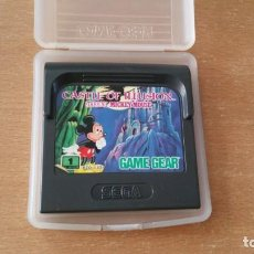 Videojuegos y Consolas: MICKEY CASTLE ILLUSION SEGA GAME GEAR. Lote 195851295