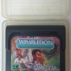 Videojuegos y Consolas: WIMBLEDON SEGA GAME GEAR. Lote 195898657
