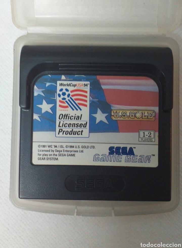 WORLD CUP USA 94 SEGA GAME GEAR (Juguetes - Videojuegos y Consolas - Sega - GameGear)